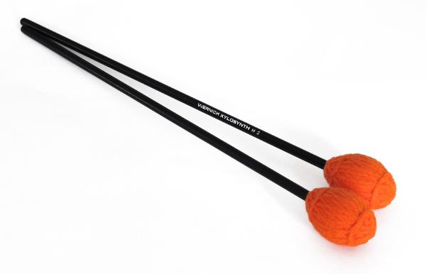 Wernick Birch Handle Orange Yarn Mallets
