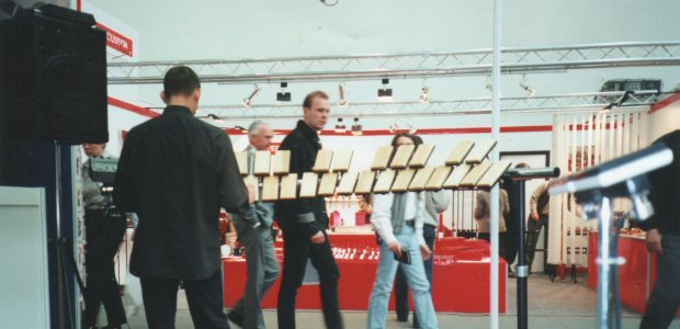 MK1 Xylosynth at Frankfurt Musik Messe 2006